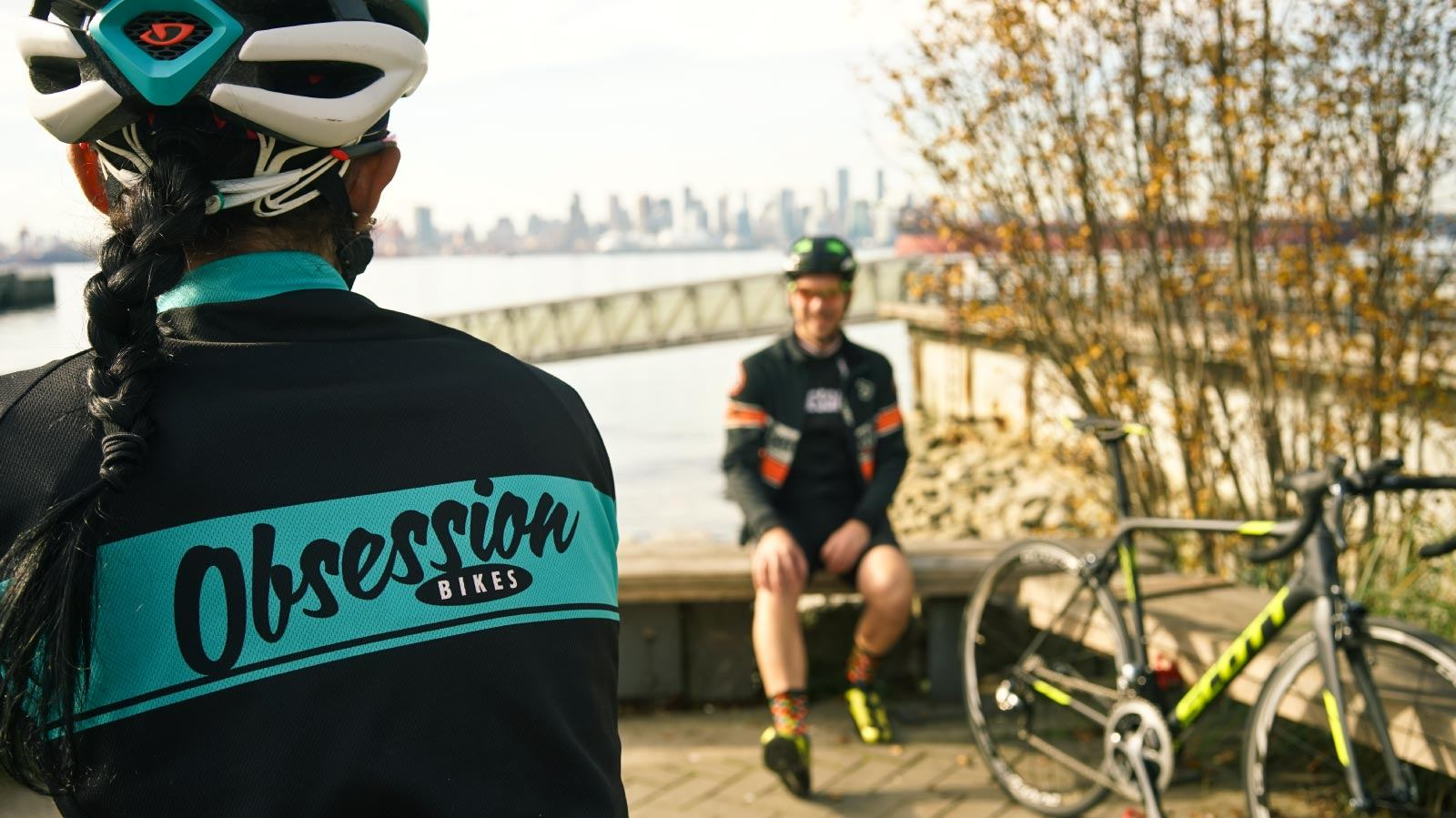 Obsession Bikes branded clothing